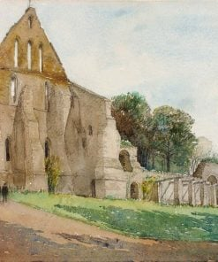 Battle Abbey | Cass Gilbert | Oil Painting