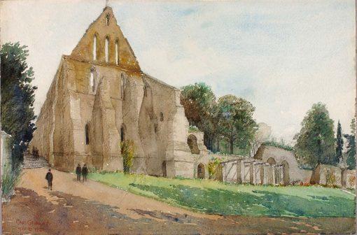 Battle Abbey | Cass Gilbert | Oil Painting
