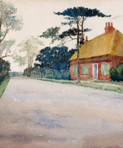 A Road in Dorset | Cass Gilbert | Oil Painting