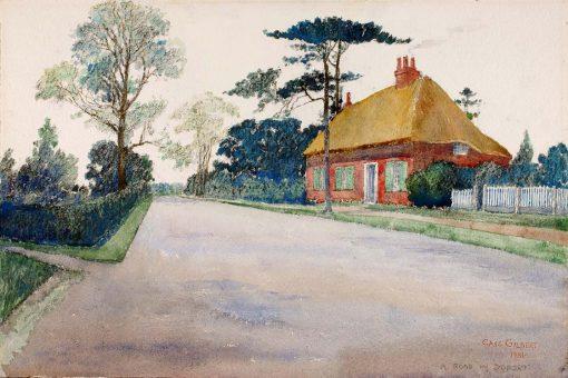 A Road in Dorset | Cass Gilbert | Oil Painting