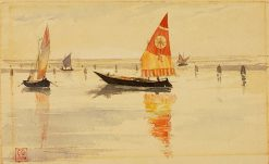 Sailboats (Venice) | Cass Gilbert | Oil Painting