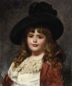 Laura at Seven | Charles Auguste Emile Durand | Oil Painting