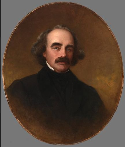 Nathaniel Hawthorne | Emanuel Gottlieb Leutze | Oil Painting