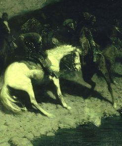 Fired On | Frederic Remington | Oil Painting