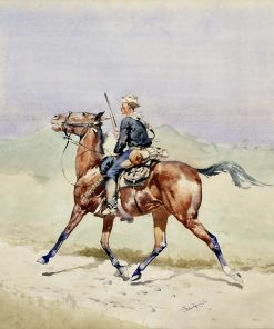 The Advance-Guard | Frederic Remington | Oil Painting