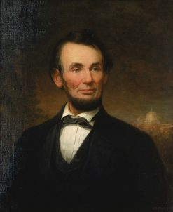 Abraham Lincoln | George Henry Story | Oil Painting