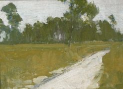 Country Road in France | Henry Ossawa Tanner | Oil Painting
