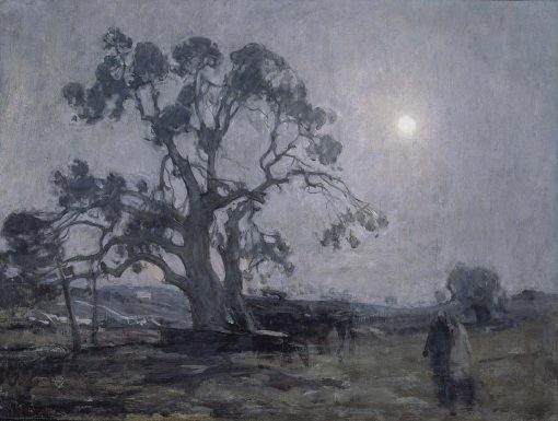 Abraham's Oak | Henry Ossawa Tanner | Oil Painting