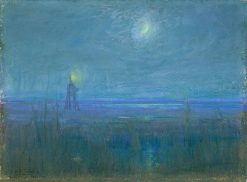 Marshes in New Jersey | Henry Ossawa Tanner | Oil Painting