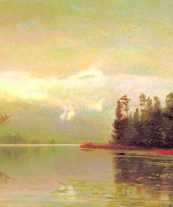 North Woods Lake   Homer Dodge Martin   Oil Painting