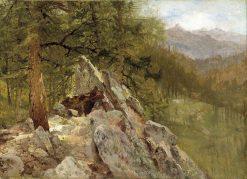 Western Landscape | John Frederick Kensett | Oil Painting