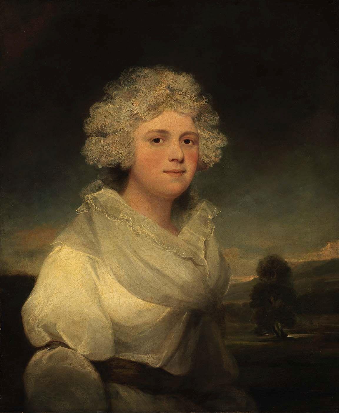 Mrs Abington   John Hoppner   Oil Painting