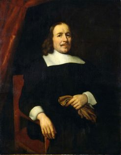 A Dutch Gentleman | Nicolaes Maes | Oil Painting