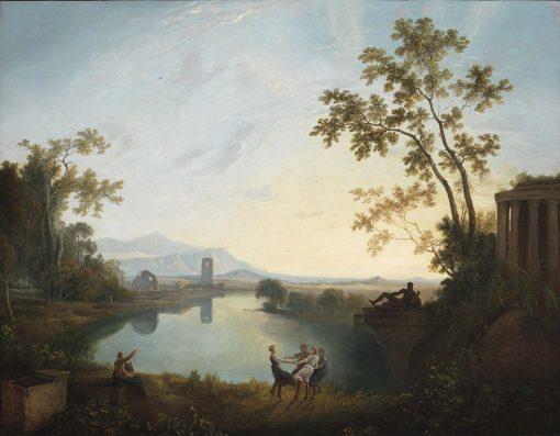 Apollo and the Seasons (Classical Landscape) | Richard Wilson