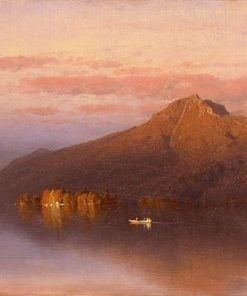 Whiteface Mountain from Lake Placid | Sanford Robinson Gifford | Oil Painting