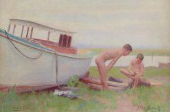 Sand Burr   Thomas P. Anshutz   Oil Painting