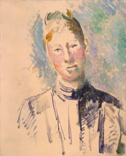 Madame Cézanne | Paul CEzanne | Oil Painting