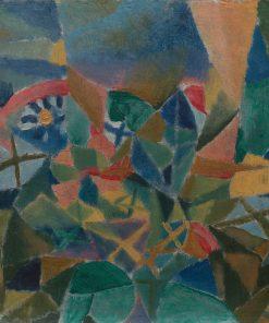 Flowerbed | Paul Klee | Oil Painting
