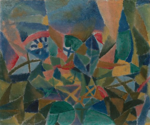 Flowerbed | Paul Klee | Oil Painting