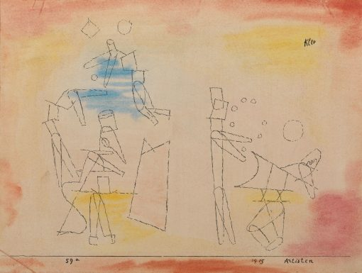 Artisten (Acrobats) | Paul Klee | Oil Painting