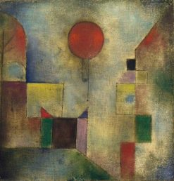 Red Balloon | Paul Klee | Oil Painting