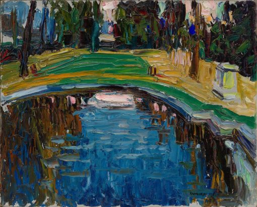 Pond in the Park | Wassily Kandinsky | Oil Painting