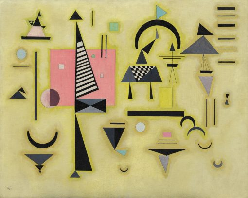 Entscheidendes Rosa (Decisive Rose) | Wassily Kandinsky | Oil Painting
