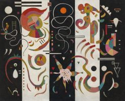 Striped | Wassily Kandinsky | Oil Painting