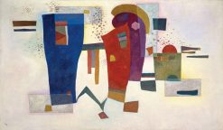 Contraste accompagné (Accompanied Contrast) | Wassily Kandinsky | Oil Painting