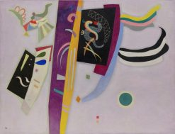 Violet-Orange | Wassily Kandinsky | Oil Painting