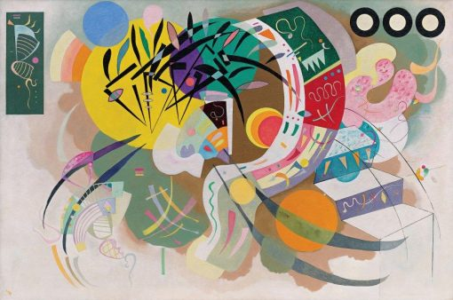Courbe dominante (Dominant Curve) | Wassily Kandinsky | Oil Painting