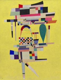 Yellow Painting | Wassily Kandinsky | Oil Painting