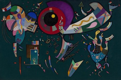 Around the Circle | Wassily Kandinsky | Oil Painting