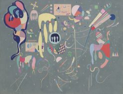 Various Actions | Wassily Kandinsky | Oil Painting