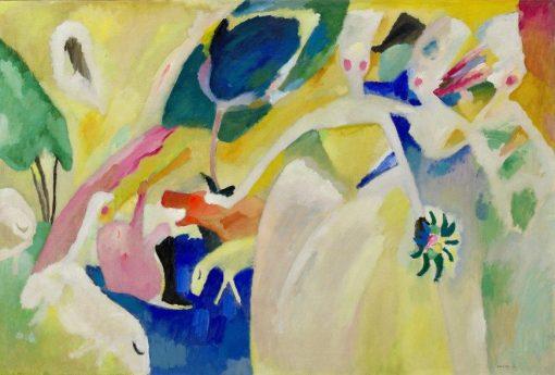 Pastorale | Wassily Kandinsky | Oil Painting