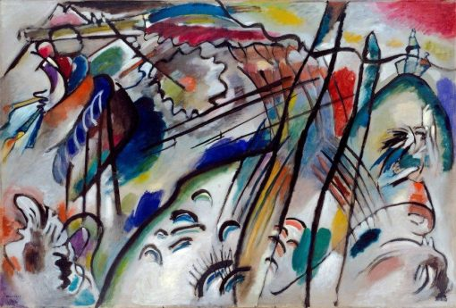 Improvisation 28 (Second Version) | Wassily Kandinsky | Oil Painting