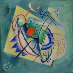 Red Oval | Wassily Kandinsky | Oil Painting