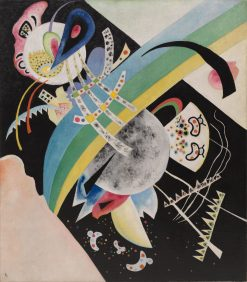 Circles on Black | Wassily Kandinsky | Oil Painting