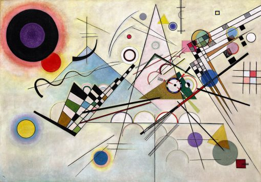Composition 8 | Wassily Kandinsky | Oil Painting