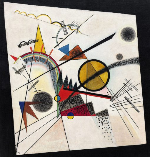 In the Black Square | Wassily Kandinsky | Oil Painting