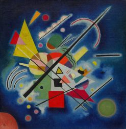 Blue Painting | Wassily Kandinsky | Oil Painting