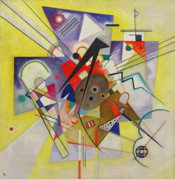 Yellow Accompaniment | Wassily Kandinsky | Oil Painting
