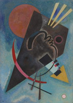 Spitz und Rund (Pointed and Round) | Wassily Kandinsky | Oil Painting