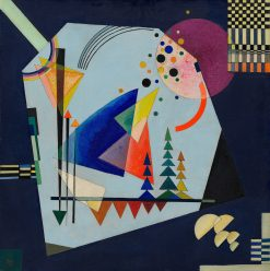 Three Sounds | Wassily Kandinsky | Oil Painting