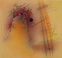 Aglow | Wassily Kandinsky | Oil Painting