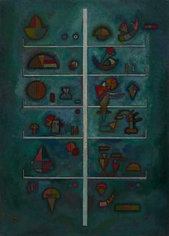 Levels | Wassily Kandinsky | Oil Painting