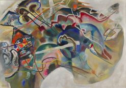 Painting with White Border | Wassily Kandinsky | Oil Painting