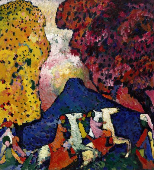 Blue Mountain | Wassily Kandinsky | Oil Painting