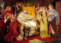 Cordelia's Portion | Ford Madox Brown | Oil Painting
