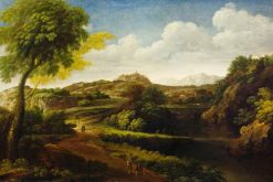 Landscape of the Roman Campagna | Gaspard Dughet | Oil Painting